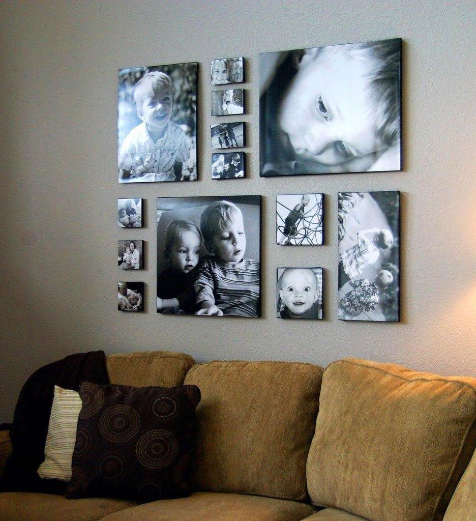 Картина на стене по фото