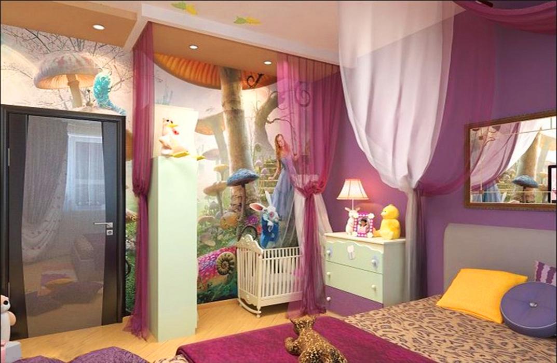 Как сделать из спальни детскую и спальню