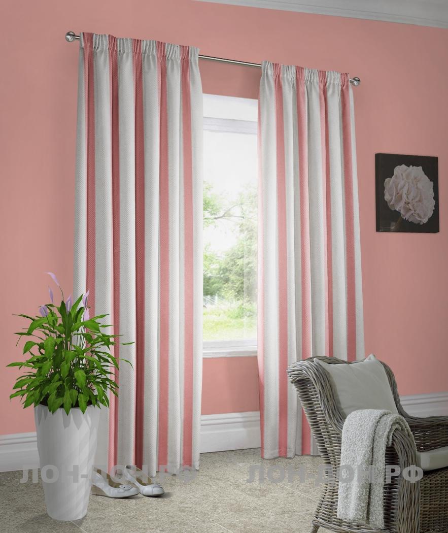 шторы фото к розовым обоям фото